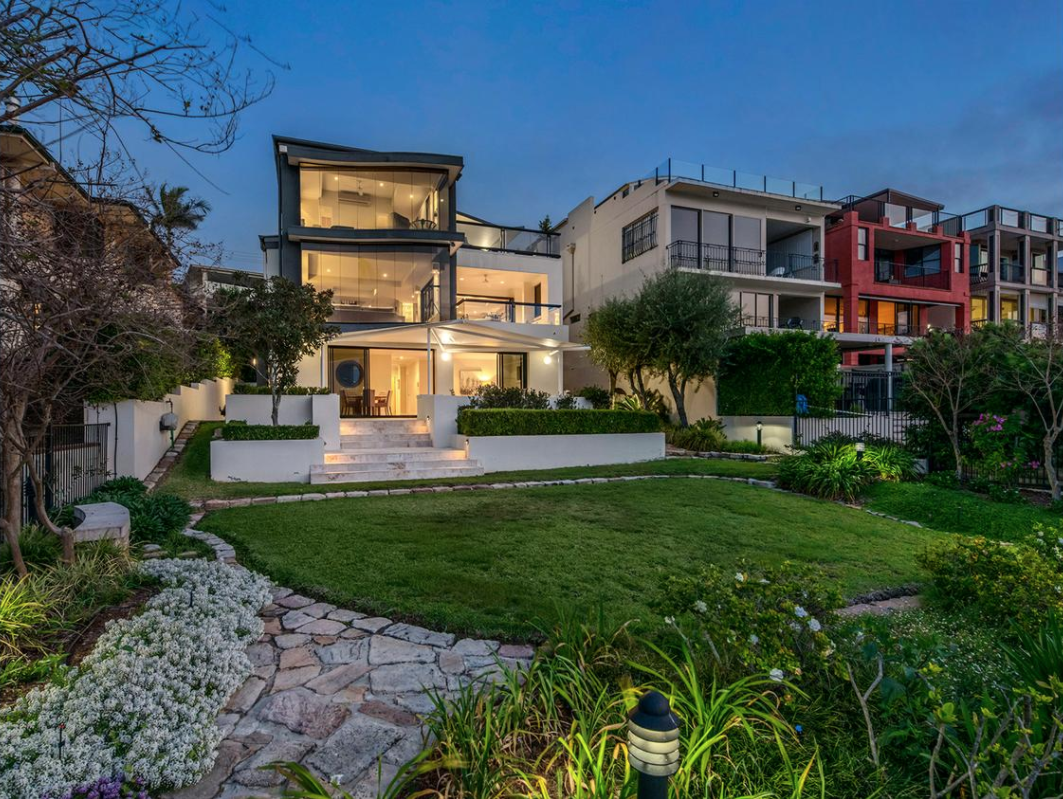Brisbane's top price was a modern three level riverfront that fetched $4,125,000.