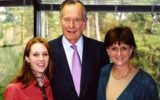 George Bush snr Sixth woman comes forward and accuses George H W Bush of groping her. - Roslyn Corrigan