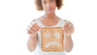 Many people claim intolerance to foods containing gluten, but few have a true allergy. - bread, gluten