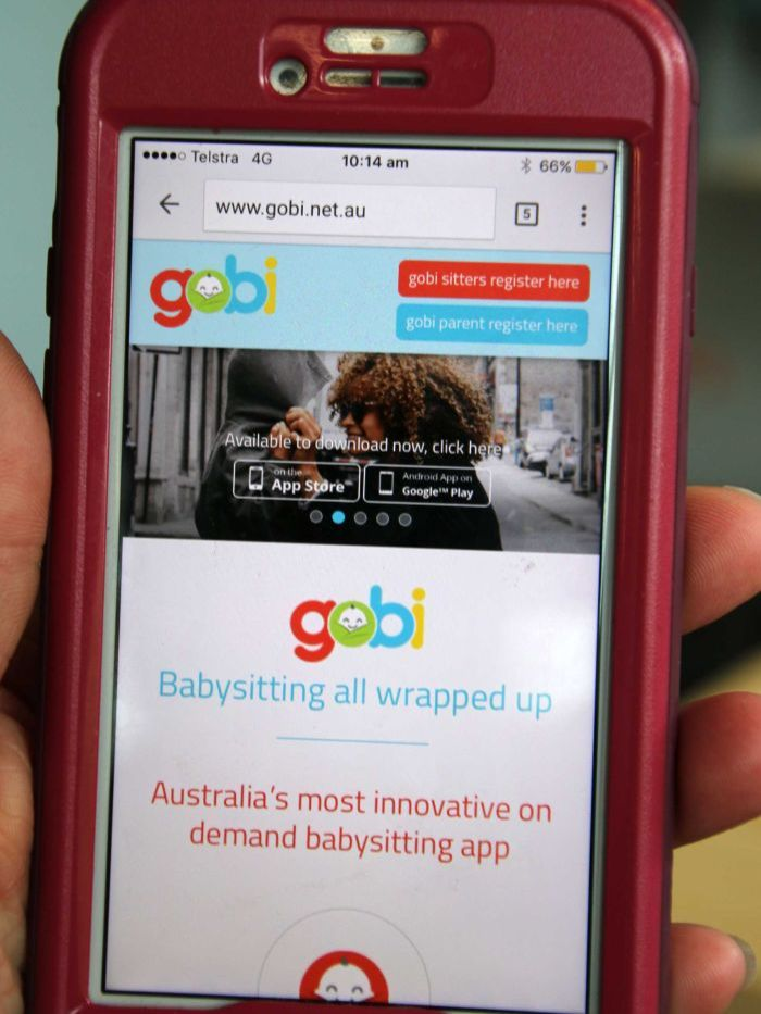 The Gobi babysitting app offers on demand carers for busy parents.