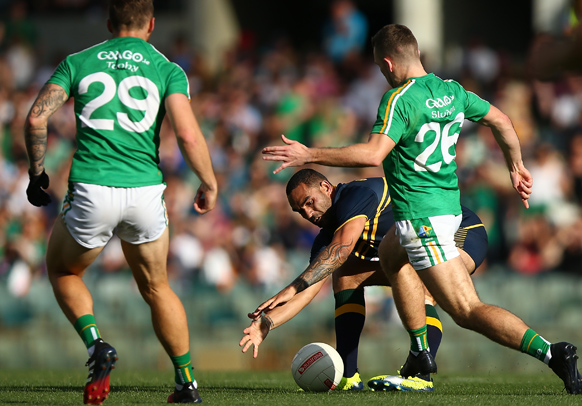 International Rules Ireland Australia
