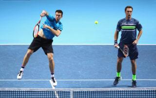 John Peers and Finn Henri Kontinen. ATP. World Tour Final
