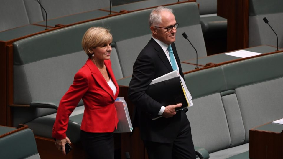 Malcolm Turnbull will release Australia's first foreign policy white paper in 14 years. - Julie Bishop