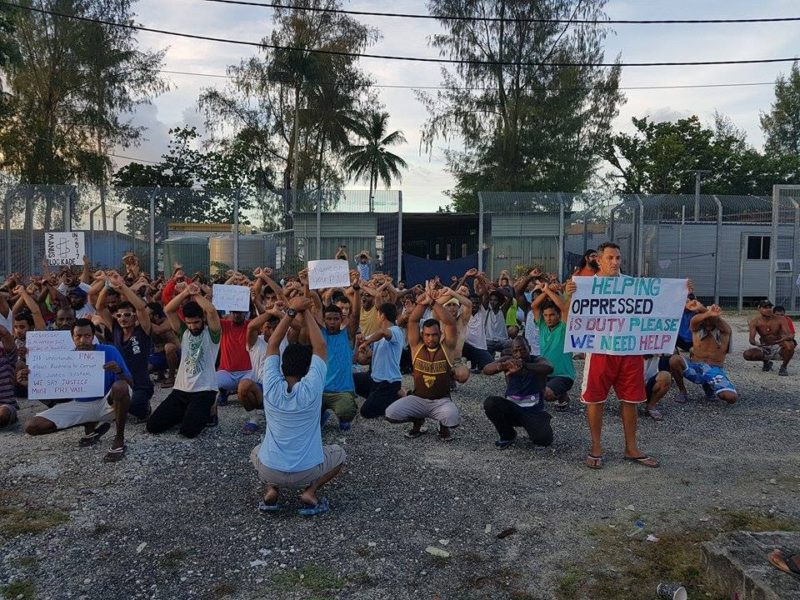 About 600 men say they will continue to peacefully resist being moved out of the Manus Island centre.