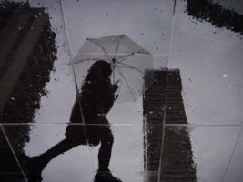 Up to 150mm of rain is expected to hit Melbourne over the weekend (stock image).
