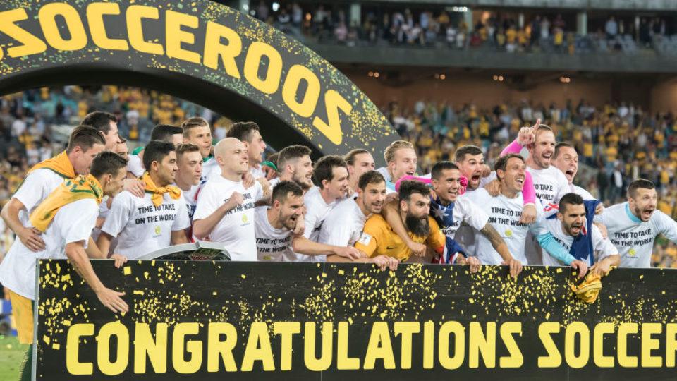 Socceroos celebrate World Cup berth