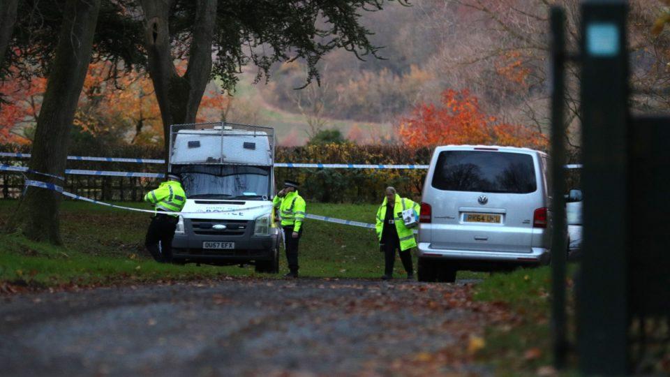 Waddesdon air crash: Officers still on the scene