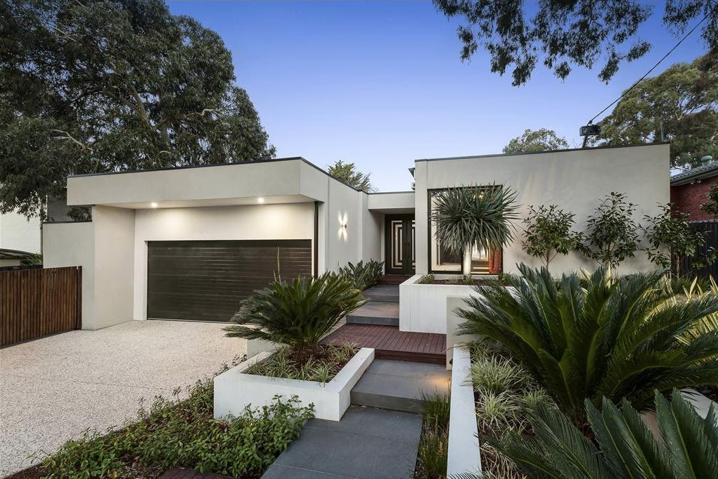 The 2 Latrobe Court home was a modern rendered 60 square residence.