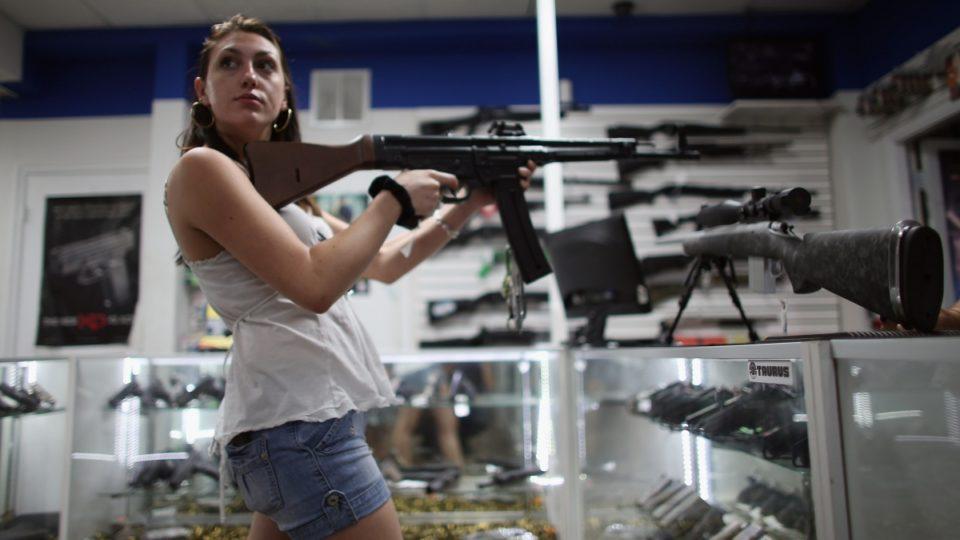 In America the last taboo isn't sex, it's guns