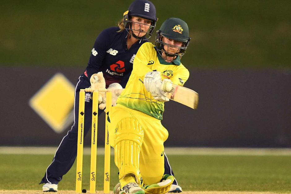 Rachael Haynes was electric with the bat in the second ODI. Women's ashes.