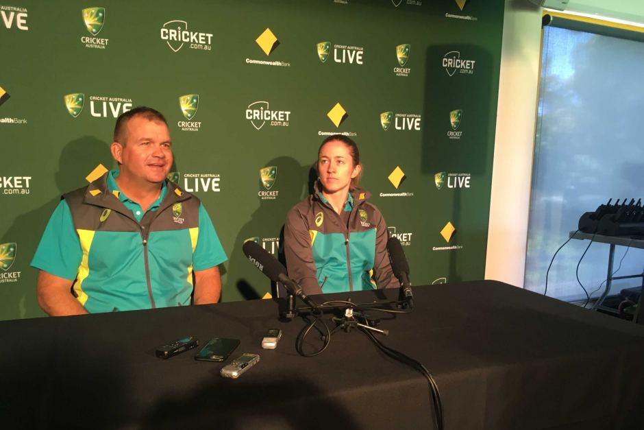 Rachael Haynes and Matthew Mott know a win in the Test match would seal Ashes victory. women's ashes
