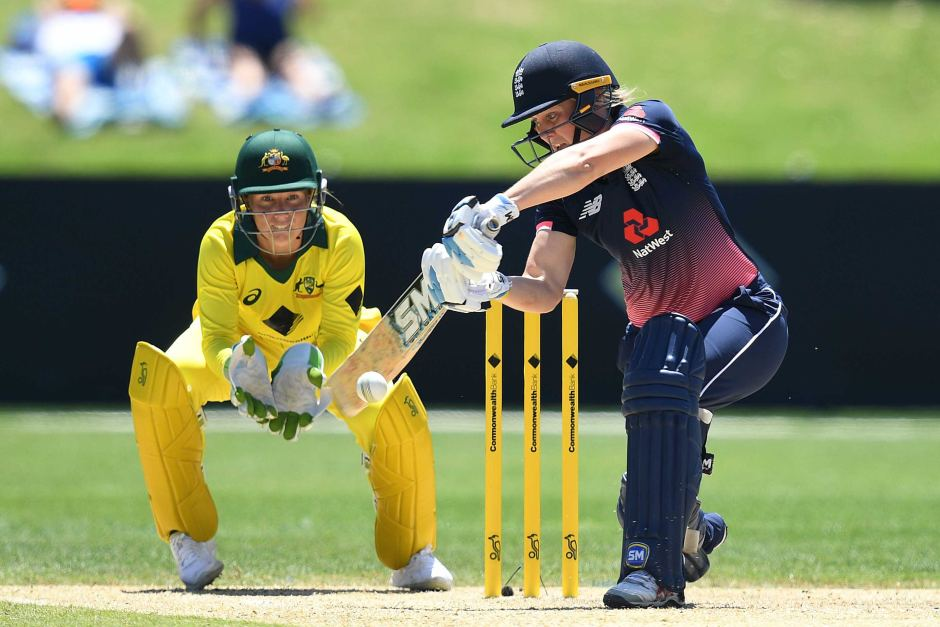 Heather Knight says her England team has a lot of fight in it. Women's ashes.