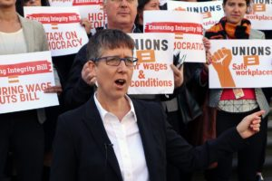 ACTU secretary Sally McManus says there has been a rise in 'fake' casual jobs.