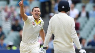 second Ashes test
