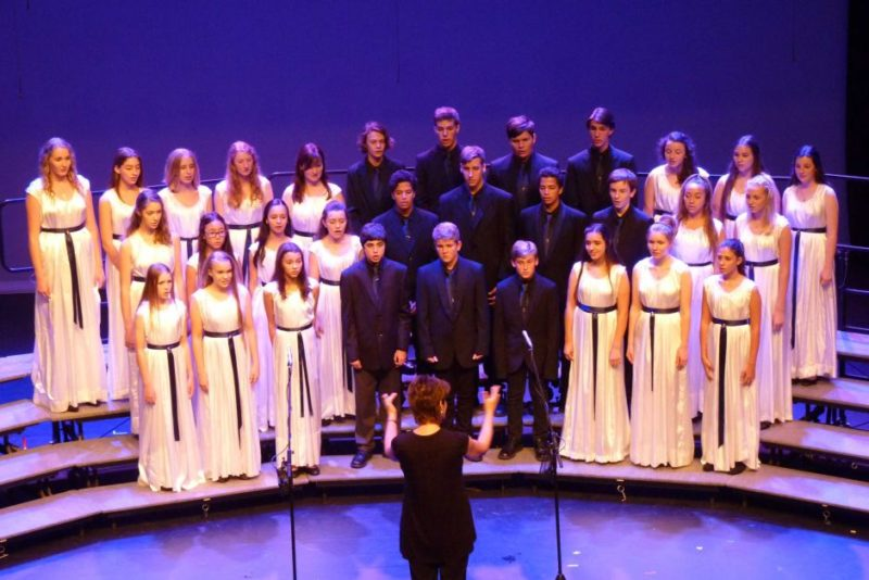 Anglican School choir
