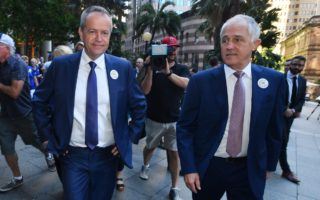 Political donations to Bill Shorten and Malcolm Turnbull