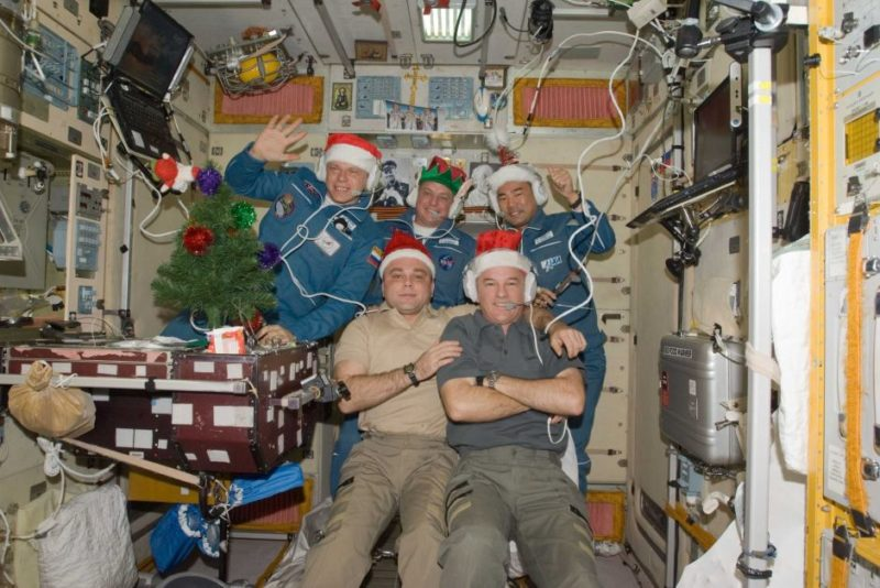Christmas on the ISS 2009