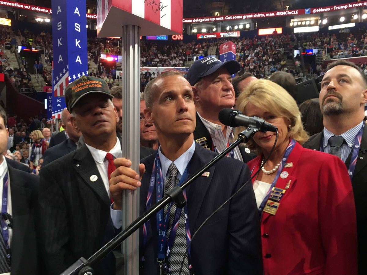 A Singer Filed A Sexual Assault Complaint Against Corey Lewandowski
