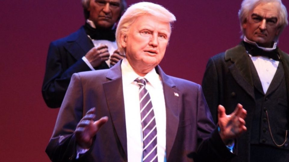 Donald Trump: Disney debuts new robot in Hall of Presidents