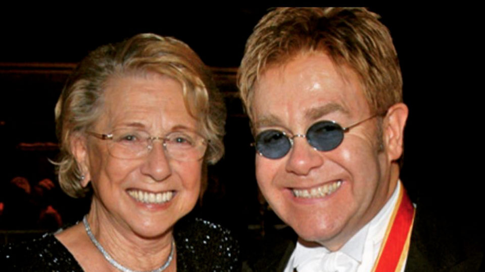 Elton John's mother Sheila Farebrother dies at 92