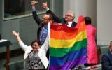 Gay marriage legalised