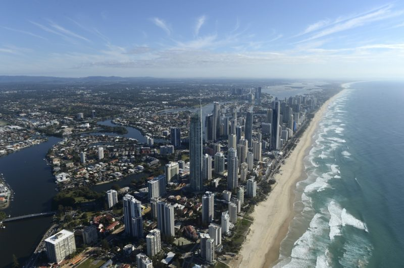 The Gold Coast in Queensland is another densely populated climate change hotspot.
