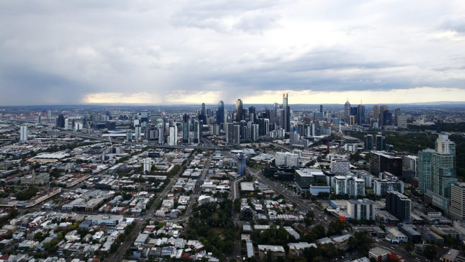 Melbourne's CBD is one of the climate change danger spots for property owners.