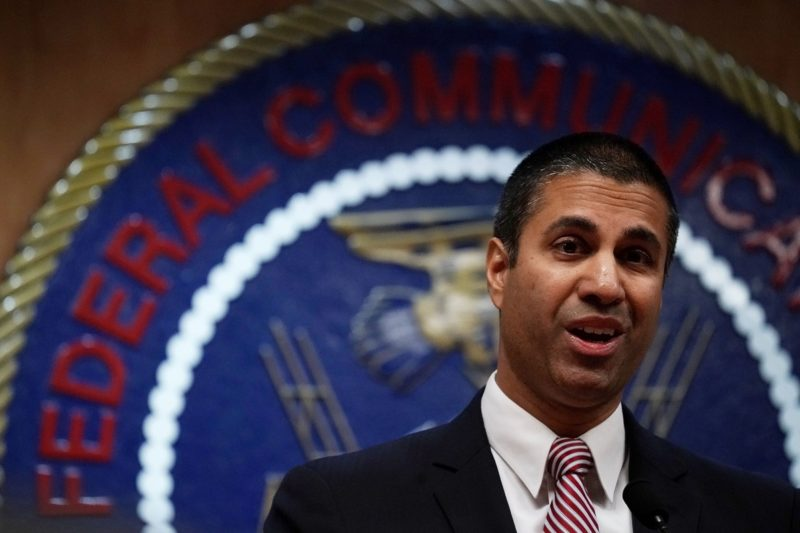 Ajit Pai, the man appointed by Donald Trump to regulate the telco industry.