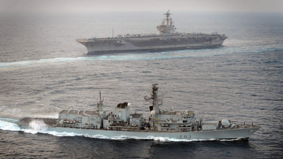United Kingdom intercepts Russian warship in North Sea on Christmas Day