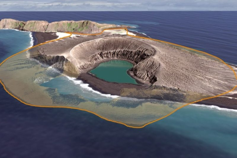 Imagery shows the erosion of Tonga's Hunga Tonga Hunga Ha'apai island over time