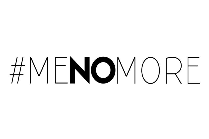 #MeNoMore
