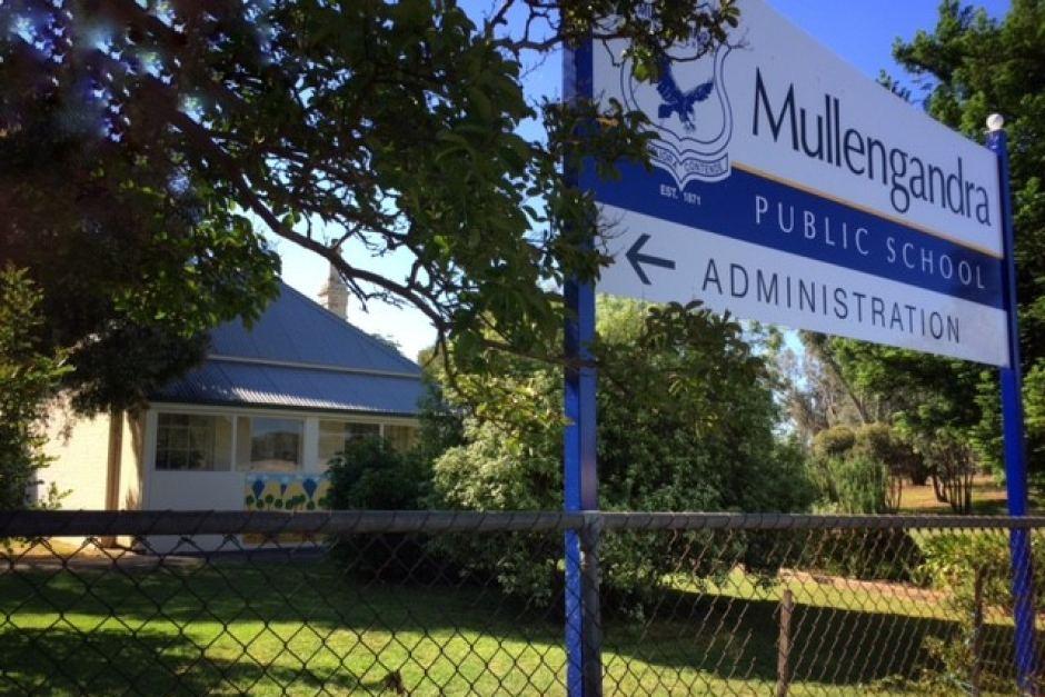 Mullengandra Public School as it looks today. ABC News: Sarah Gerathy