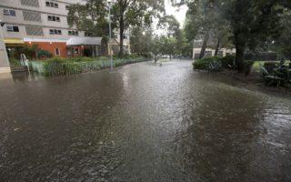 North Melbourne flash flood