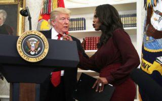 Omarosa Newman and Donald Trump