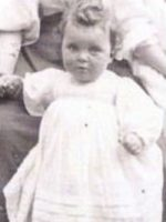 Phyllis Lee as a baby