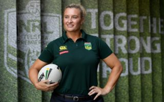 Jillaroos co-captain Ruan Sims said she was excited about plans for a women's NRL premiership.