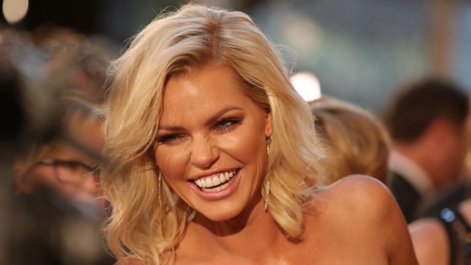 Sophie Monk on the red carpet