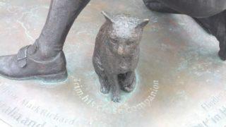 Statue of Trim the cat