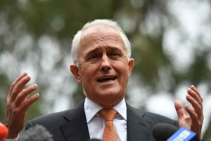 Turnbull speaking