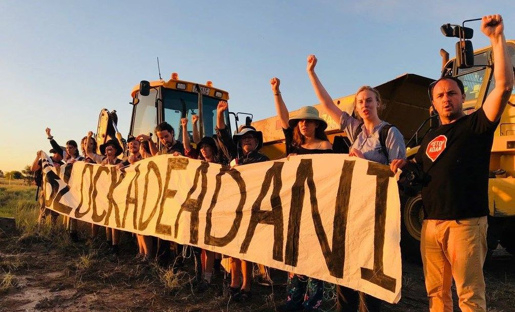 adani protest nsw greens mp