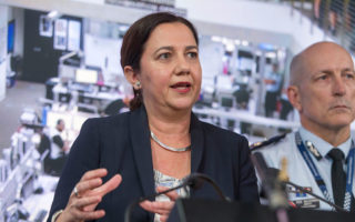 Queensland Premier Annastacia Palaszczuk has not yet claimed victory in the state election.