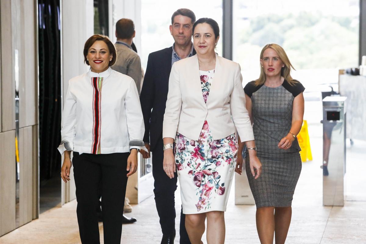 annastacia palaszczuk economic cabinet - Queensland election