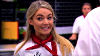 hells kitchen sam frost
