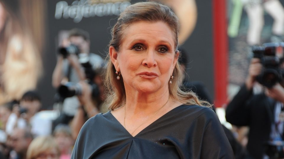 Carrie Fisher Star Wars: The Last Jedi