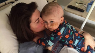 Sara Chivers with her son Alfie