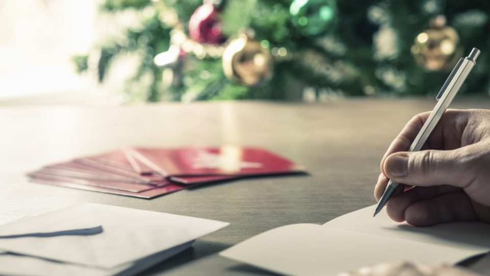 John Calcott Horsley designed which first commercial Christmas item in 1843?