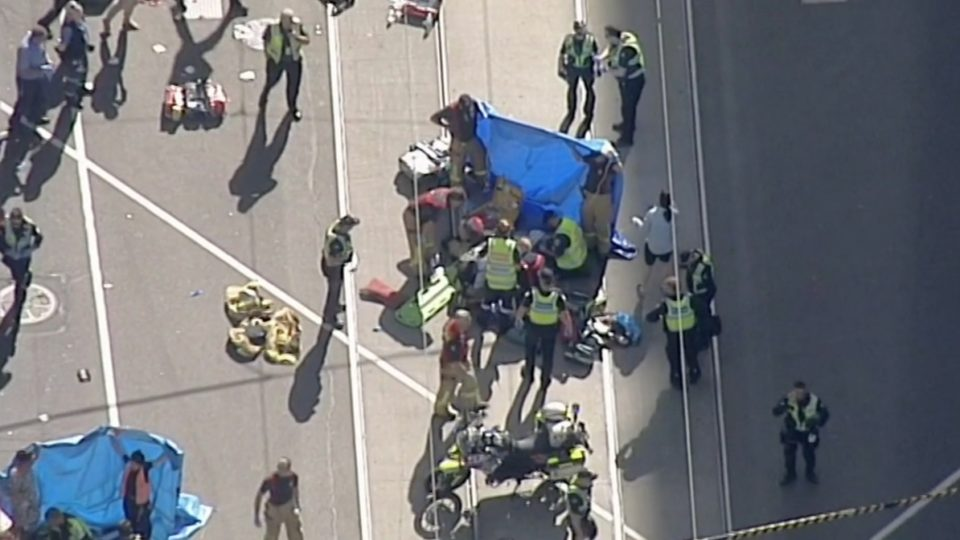 Australia police: vehicle attack injures 19, but not terrorism?