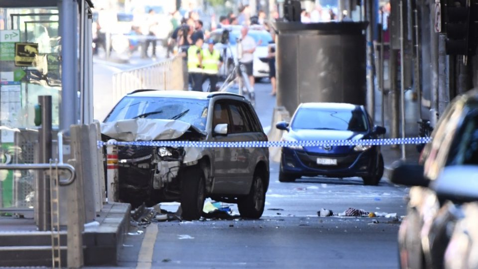 Flinders St vehicle attack: two still critical