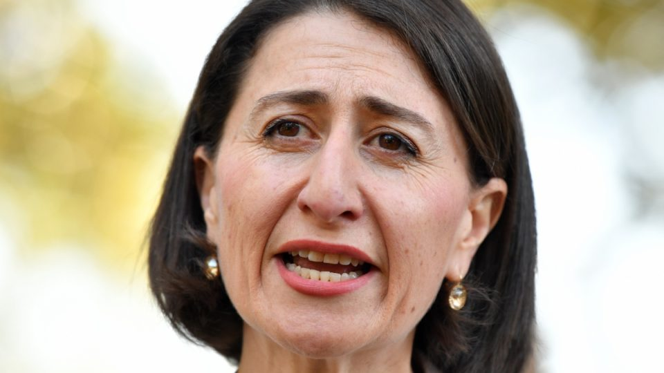 NSW Premier Gladys Berejiklian is facing a backlash over the $2 billion proposal to redevelop Sydney stadiums.