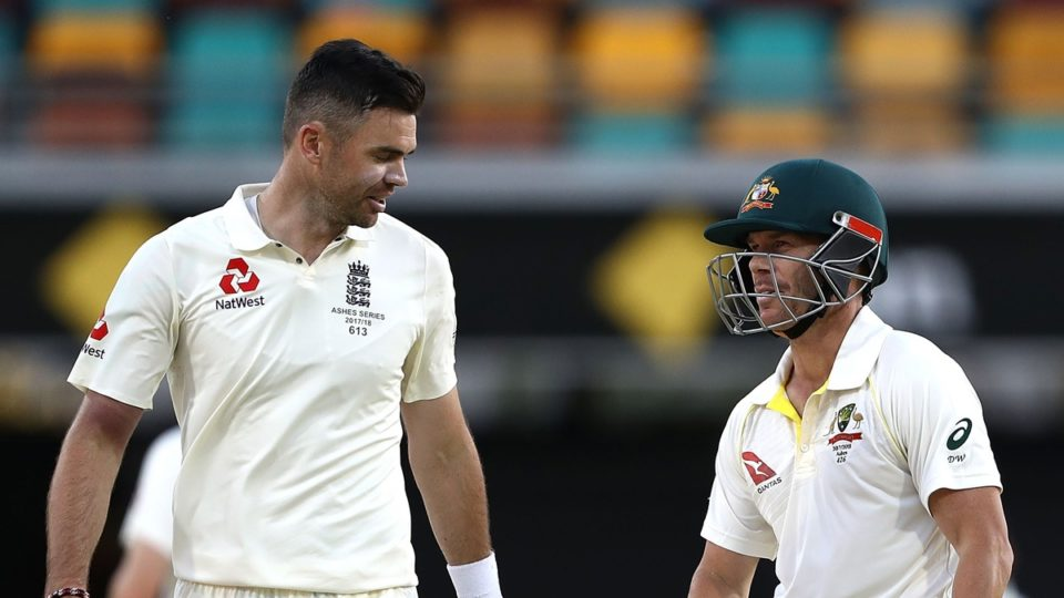 Jimmy Anderson David Warner